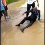Pastor battered over married woman, forced to roll in dirty water
